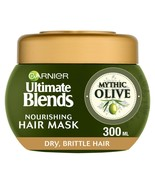 Garnier Ultimate Blends Olive Oil Dry Hair Mask Treatment 300ml - $14.31