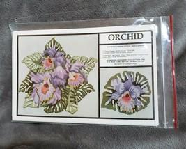 Hawaiian Designin ORCHID Counted Cross or Needlepoint Pattern Elizabeth ... - $12.19