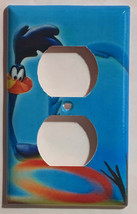Looney tunes road runner Light Switch Outlet Phone wall Cover Plate Home Decor image 2