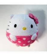 """Ty Hello Kitty Plush 4"""" Beanie Ballz Round Stuffed Ball Toy - 2012 - $9.99"""