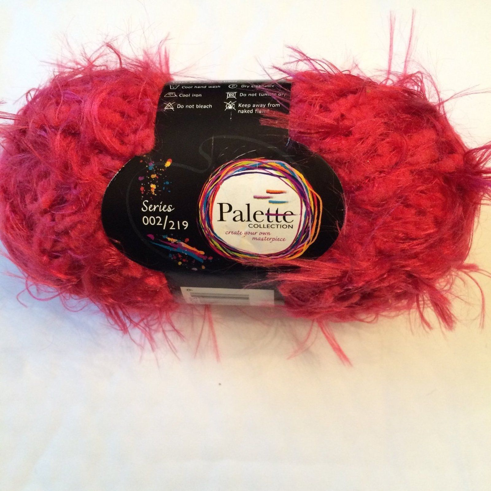 Palette Nylon Yarn: 42 Yds Scarlet RED Color Nylon Yarn #17002-05
