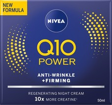Nivea Q10 Plus Night Cream 50 ml / 1.7 fl oz - $21.40
