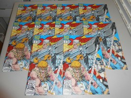 Lot of 10 1992 X-Force Comics 9 from Marvel Comics Rob Liefeld - £19.57 GBP