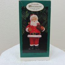 Vintage 1996 Hallmark Keepsake Ornament Santa in Original Box image 11