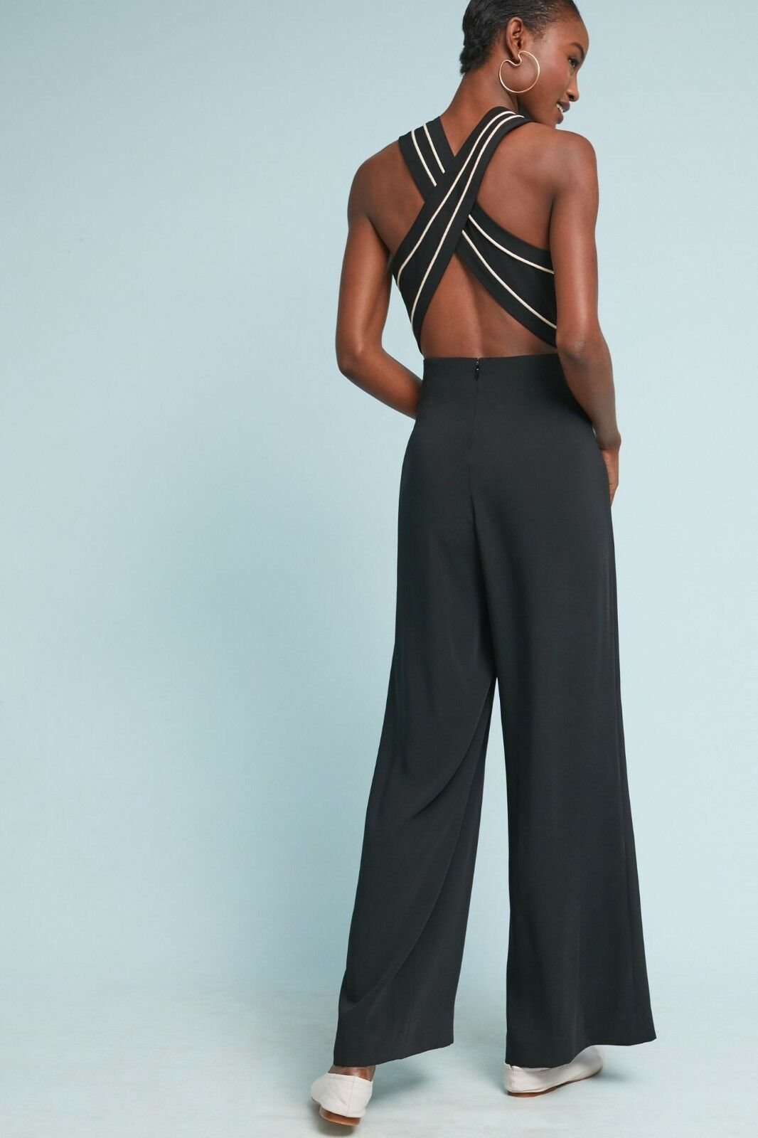Anthropologie Whitney Tailored Jumpsuit $158 Sz 0 - NWT