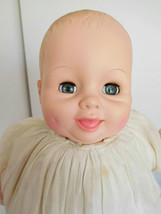 """Vintage 1978 Uneeda 19"""" Baby Glee Vinyl Happy Baby Doll - $28.99"""