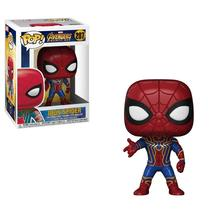 T-04 Funko Pop Marvel: Avengers Infinity War-Iron Spider Collectible Figure - $19.90