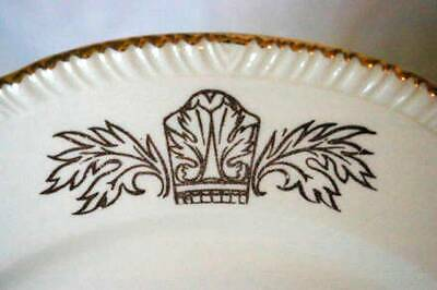 "Homer Laughlin Queen Esther Salad Plate 8 1/4"" image 3"