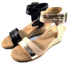 Aerosoles Spa Day Espadrille Wedge HeelRest Ankle Strap Sandals Choose Sz/Color - $55.20