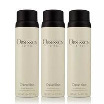 Calvin Klein Obsession for Men 3 Pack Body Spray (5.4 oz., 3 pk.) Limite... - $49.99