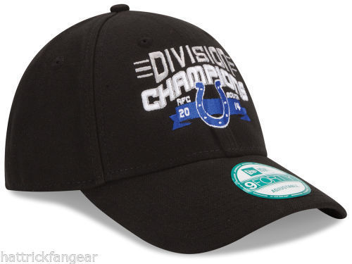 Indianapolis Colts New Era  9Forty 2014 NFC Division Champs NFL Football Cap Hat