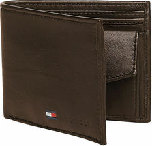 Tommy Hilfiger Men's Premium Coin Pouch Credit Card ID Wallet & Valet 31TL25X020 image 7