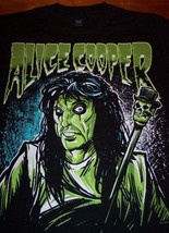 Alice Cooper As Zombie Band T-Shirt Small New - $19.80