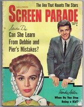 ORIGINAL Vintage March 1962 Screen Parade Magazine Sandra Dee Frankie Av... - $18.51