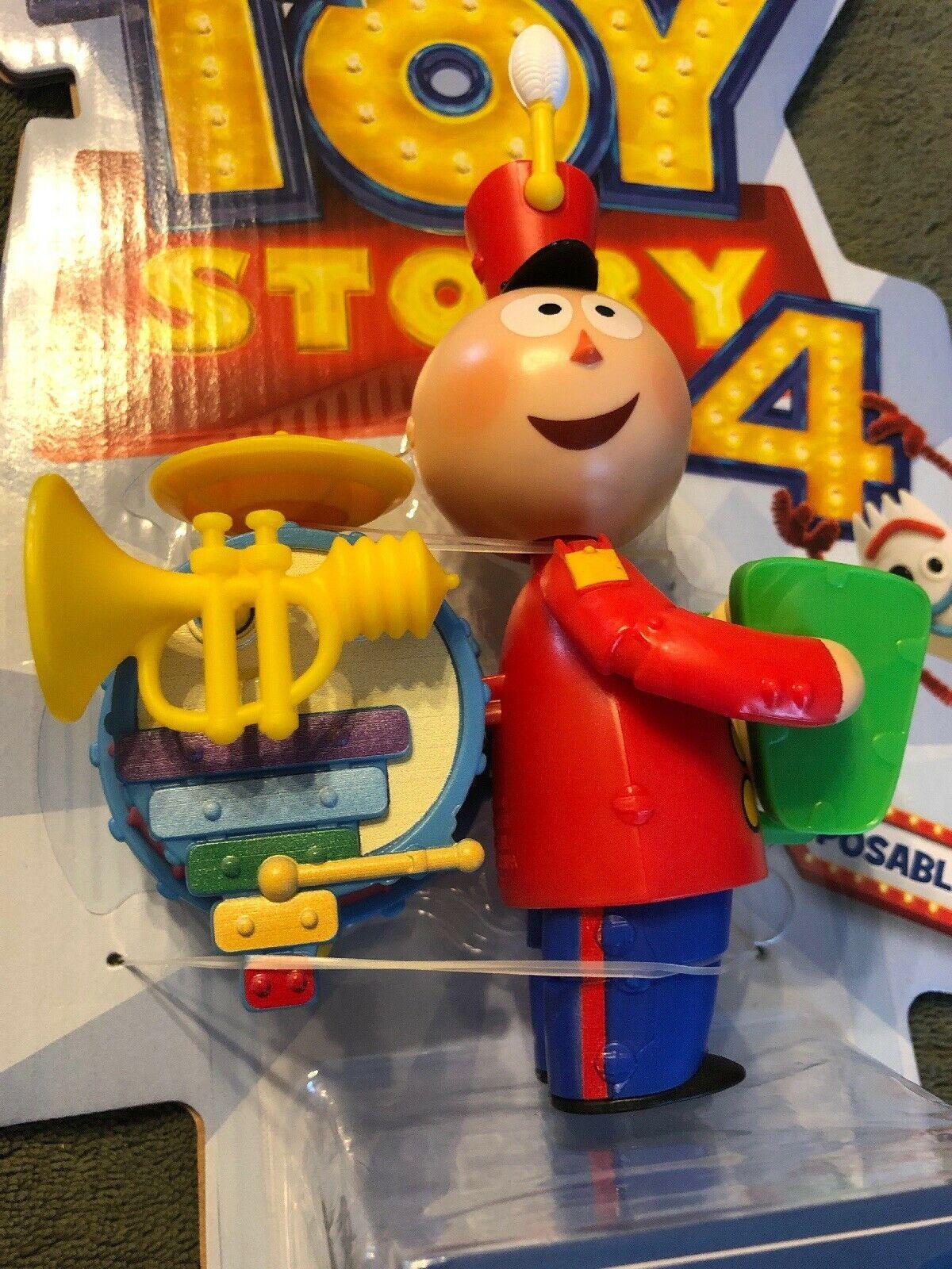 "Toy Story 4 Tinny Figure Disney Pixar 2019 Action Figure Poseable 6"" Inch image 2"