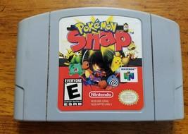 Pokemon Snap Nintendo 64 N64 1997 game cartridge only - $9.45