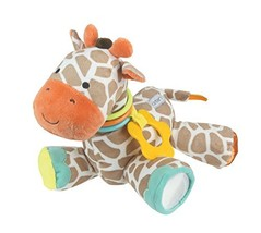 Developmental Giraffe Rattle Clip for Babies - $24.88