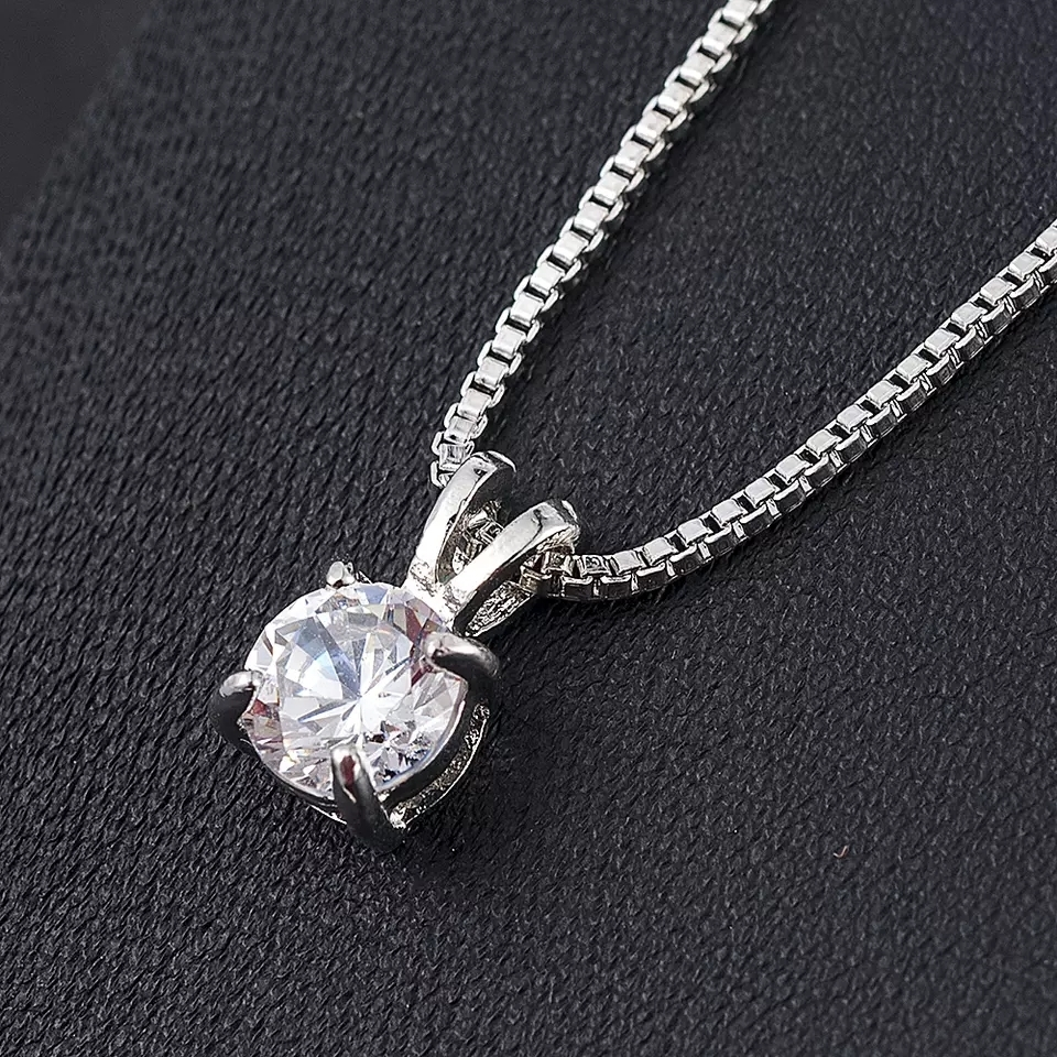2019 New Fashion Wedding Long Necklace Chunky Statement Chain Necklace Jewelry