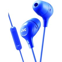 JVC Jvc Marshmallow Inner-ear Headphones With Microphone (blue) - $21.70