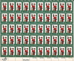 US Stamp - 1972 Christmas Santa Claus - 50 Stamp Sheet - #1472 - $9.99