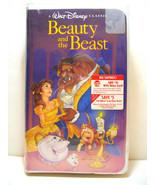BEAUTY AND THE BEAST VHS 1992 WALT DISNEY BLACK DIAMOND CLASSIC New Seal... - $2,500.00