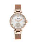 Anne Klein New York Rose Gold-Tone Mesh Ladies Bracelet Watch (12/2308SVRG) - $74.25