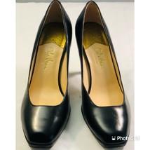 cole haan women's black leather pumps size 7.5B - $45.52
