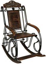 Iron wooden rocking chair rest chair folding chair  - $699.00