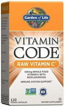 Garden of Life Vitamin C  Raw C  Whole Food Supplement,Vegan, 120 Capsules - $29.69