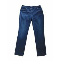 CHICO'S So Slimming Skinny Leg Stretch Jeans Sz 1.5 Soft Denim Mid Rise 10 - $20.84