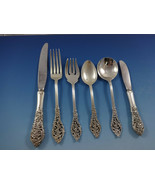Florentine Lace by Reed & Barton Sterling Silver Flatware Service 8 Set 57 Pcs - $3,900.00