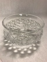 Vintage WATERFORD  crystal open  footed  bowl compote Comebagh  marked n... - $33.65