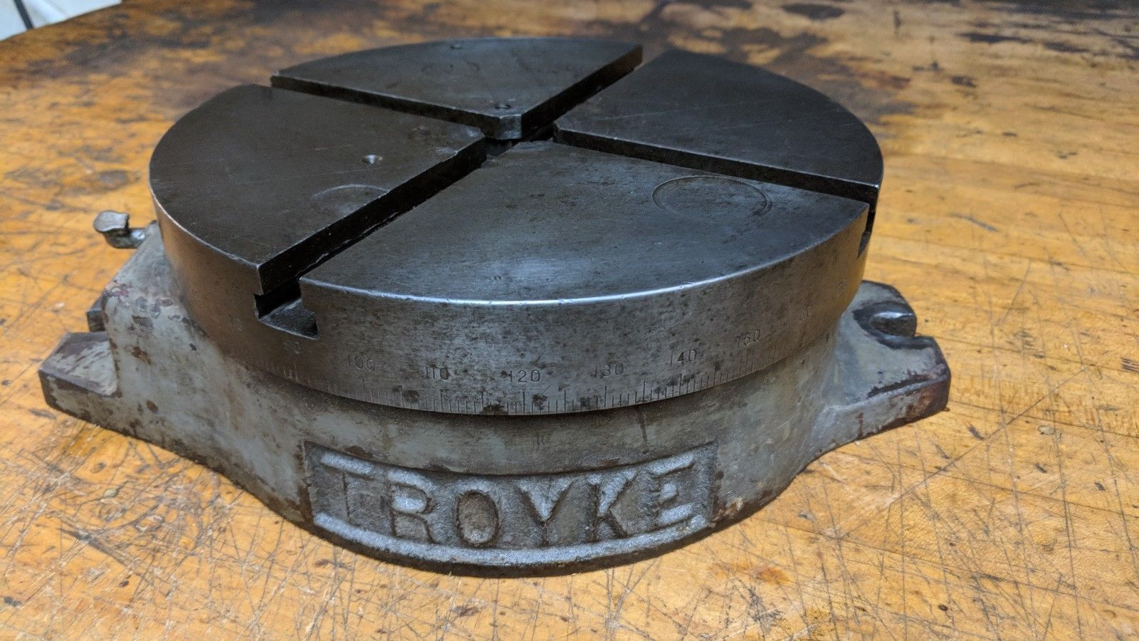 Troyke 9 inch Rotary Table BH-9 for bridgeport milling machine