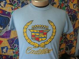Vintage 80s Cadillac blue T Shirt M - $39.59