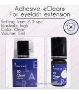 New Viviene Adhesives glue Clear 5 ml for eyelash extension original - $49.49