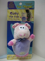 """OINKY"" Pig Fun Friends Plush Backpack or Keychain Fob or Zipper Pull NEW - $1.00"