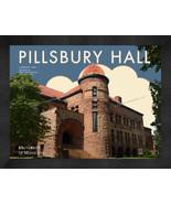 "University of Minnesota ""Pillsbury Hall"" 13 x 16 Art Deco Framed Print  - $39.95"