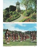 Two Scotland Postcards /Blank Backs - $1.75
