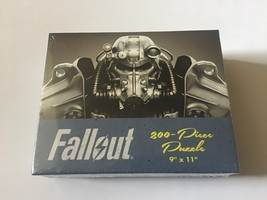 "Bethesda Fallout 200 Piece Puzzle Jigsaw 9"" X 11"" Bethesda USAopoly T-60 Armor - $7.34"
