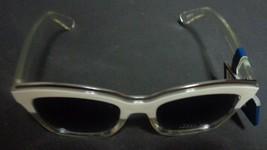 Falls Creek White Clear Sunglasses NWT 100% UV Protection image 6