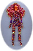 PMS Muse Doll DIY Craft Beading Pattern Bead Instructions - $27.98