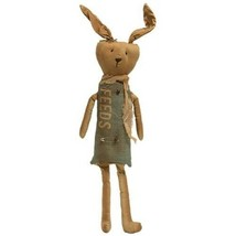 Easter FEEDS BUNNY DOLL Country Farmhouse Primitive Fabric Cloth Spring ... - $43.99