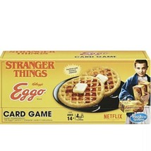 Netflix Stranger Things Eggo Card Game New  - $29.69