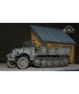 German SdKfz 8 12-Ton Heavy Halftrack 1:35 Pro Built Model - $247.50