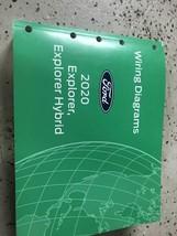 2020 Ford Explorador & Híbrido Cableado Eléctrico Diagrama Manual Ewd Etm - $98.77