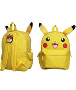 1 pcs, Pokemon FACE 12'' BP - Pikachu School Bag - $299.99