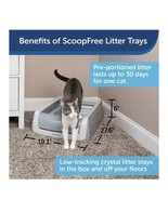 Cat Litter Box Self-Cleaning And Comes With Disposable Trays (a) J5 - $296.99