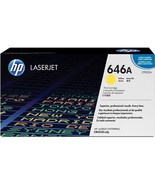 HP CF032A 646A Yellow Original LaserJet Toner Cartridge CF032A - $169.89