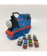 Thomas & Friends Take Along N Play Plastic Carrying Case-Comes with 7 Tr... - $21.49