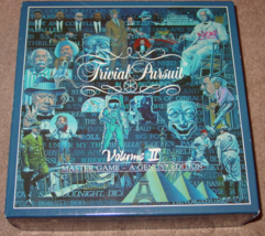 TRIVIAL PURSUIT VOL II MASTER GAME GENUS EDITION GAME 1987 HORN ABBOT CO... - $25.00
